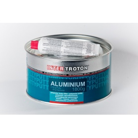 Polyesterový tmel Aluminium s hliníkovým práškom