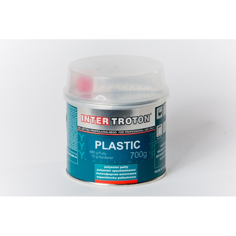 Plastic - tmel na plasty