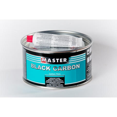 Polyesterový tmel Black Carbon s uhlíkovým vláknom
